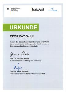 Urkunde_Deutschlandstipendium_2015