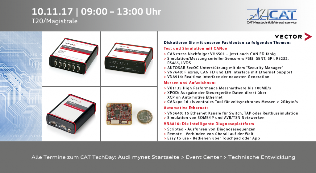 CAT TechDay Nr. 213, Vector Informatik GmbH